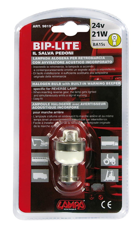 LAMPA BIP LITE LAMPARA MARCHA ATRAS CON AVISADOR ACUSTICO 24 V 98197