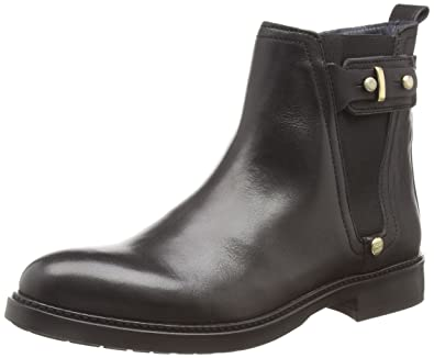 Tommy Hilfiger Women's Holly 3A Chelsea Boots, Schwarz