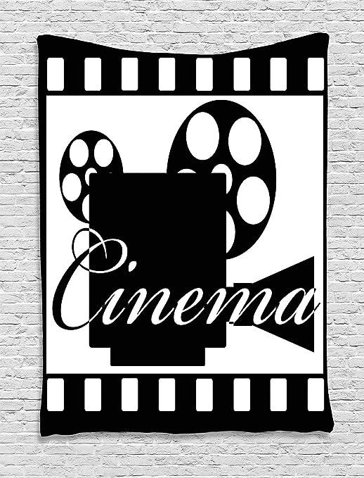 ABAKUHAUS Cine Tapiz de Pared, Marco Tira De La Película, para el ...