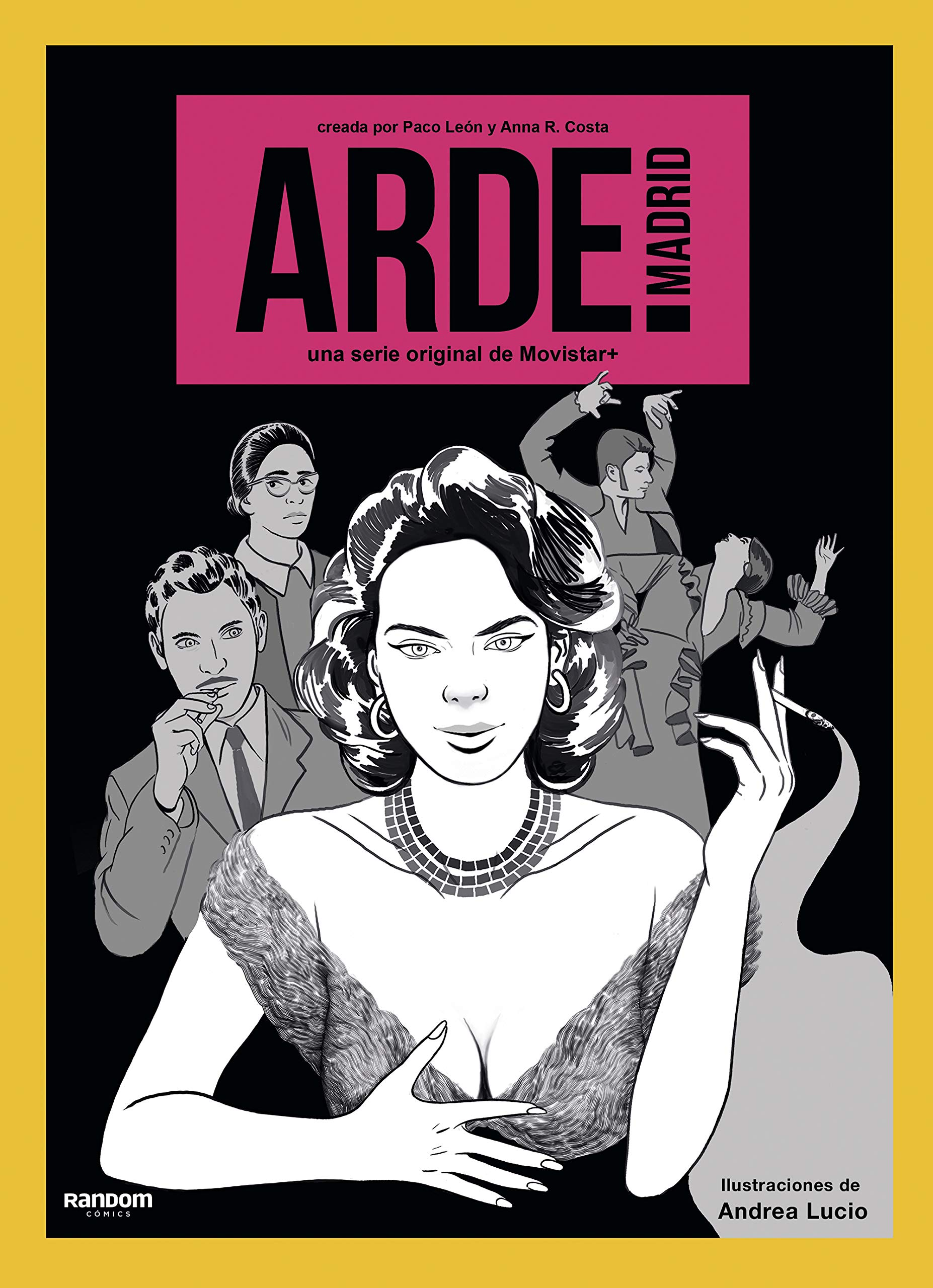 Arde Madrid Random Cómics Amazon Es León Paco R Costa Anna Libros