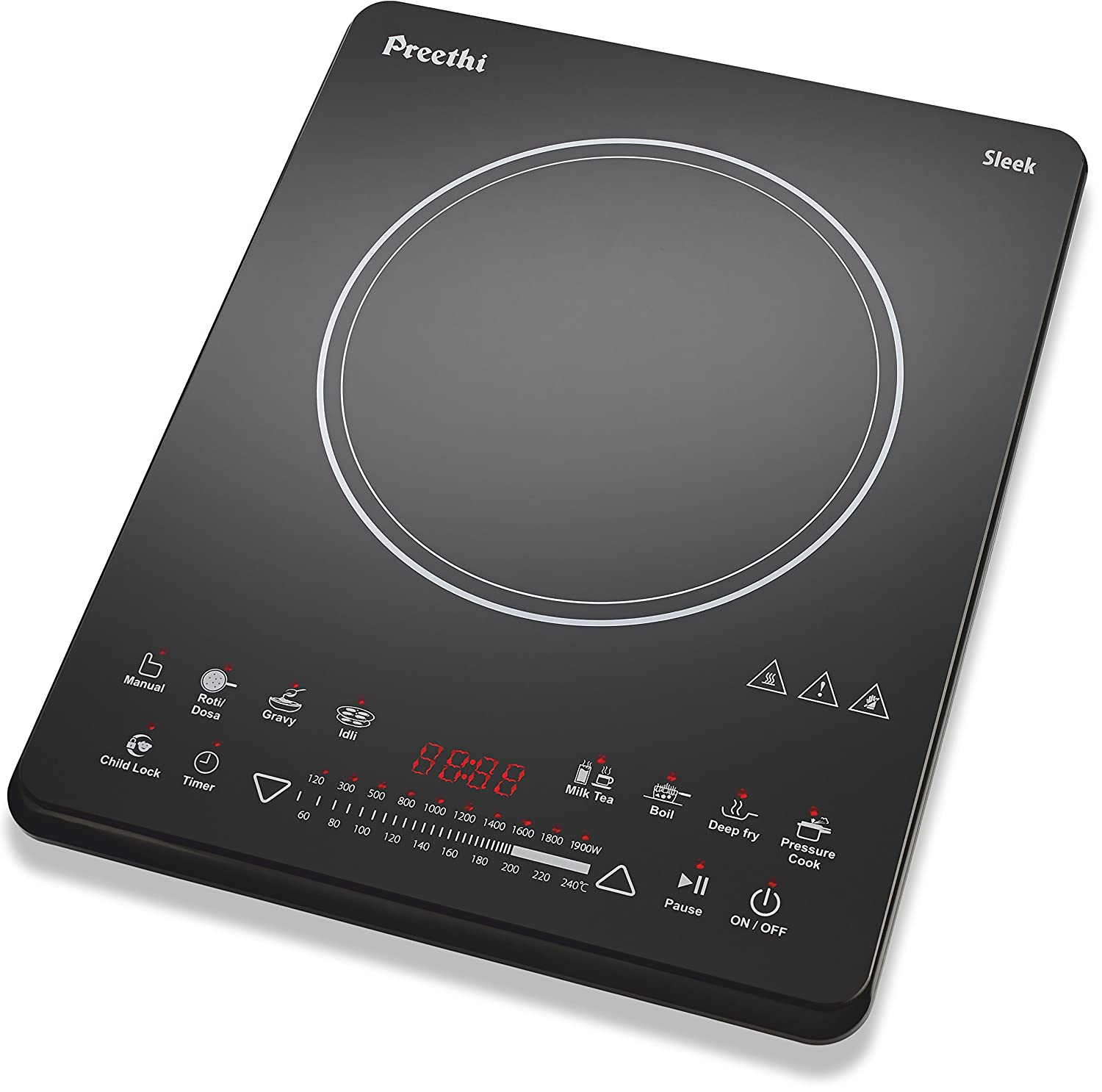 Classic Cuisine w Induction Cooker Countertop Portable 5