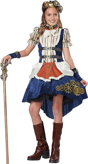 Disfraces de California Steampunk Fashion niña Teen Disfraz S ...