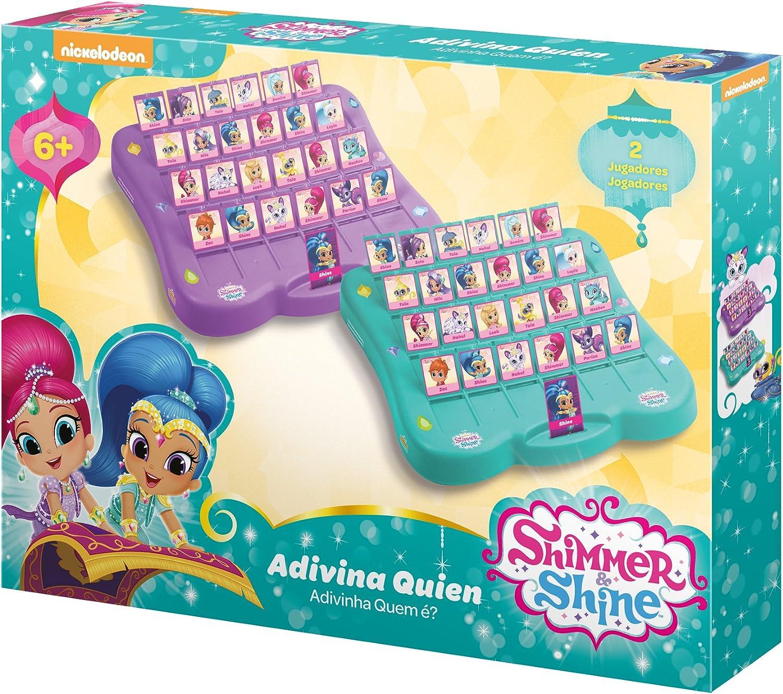 Shimmer and Shine Juego Adivina Quién (Saica 2633): Amazon.es: Juguetes y juegos