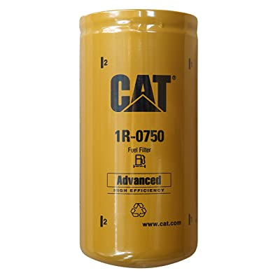 Caterpillar 1R-0750 Advanced High Efficiency Fuel Filter Multipack (Pack of 2): Automotive