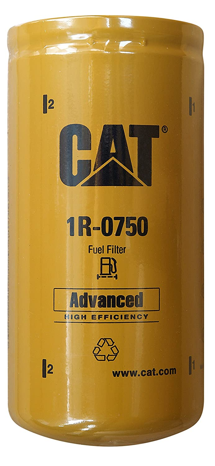 Pack of 3 Caterpillar 1R-0750 Advanced High Efficiency Fuel Filter Multipack