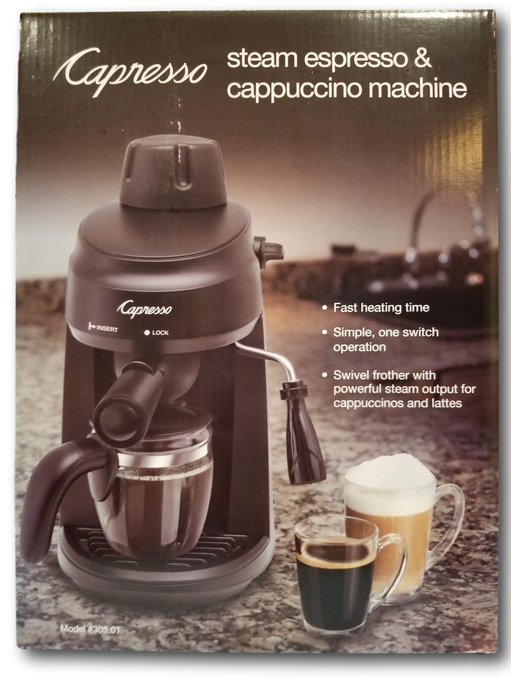 Capresso Steam Espresso & Cappuccino Machine by Steam Espresso & Cappuccino Machine