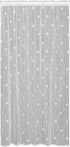 Heritage Lace Bee Panel, 45 by 96-Inch, White