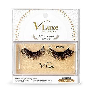 ca438b46781 Amazon.com : V Luxe Mink Lashes Crystal : Beauty