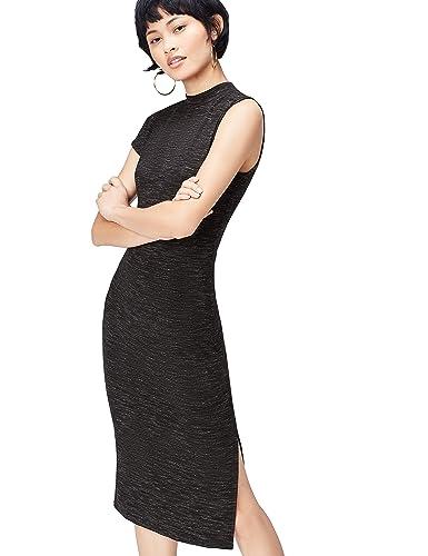 FIND Vestito Monospalla Donna