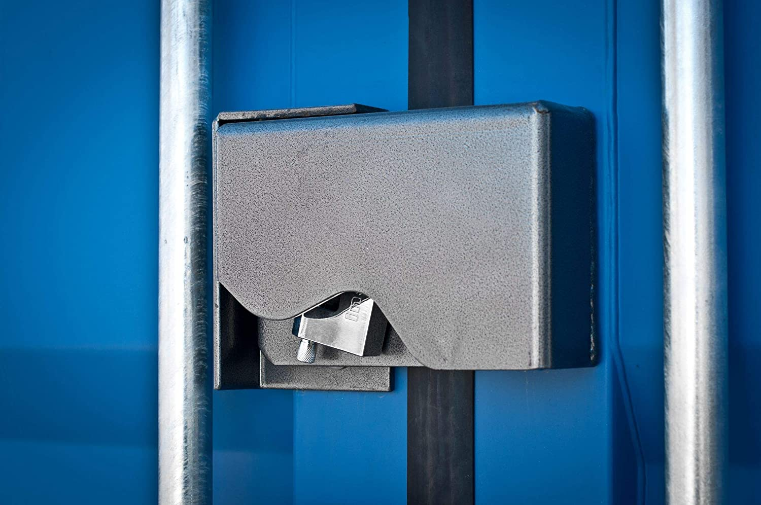 Powder Coated Shipping Container Lock Box Cargo Container Lock Box Free Padlock