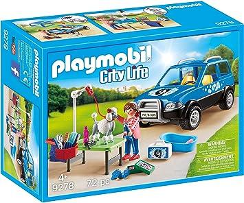 Playmobil Coche Lavandería de Perros Juguete geobra Brandstätter 9278: Amazon.es: Juguetes y juegos