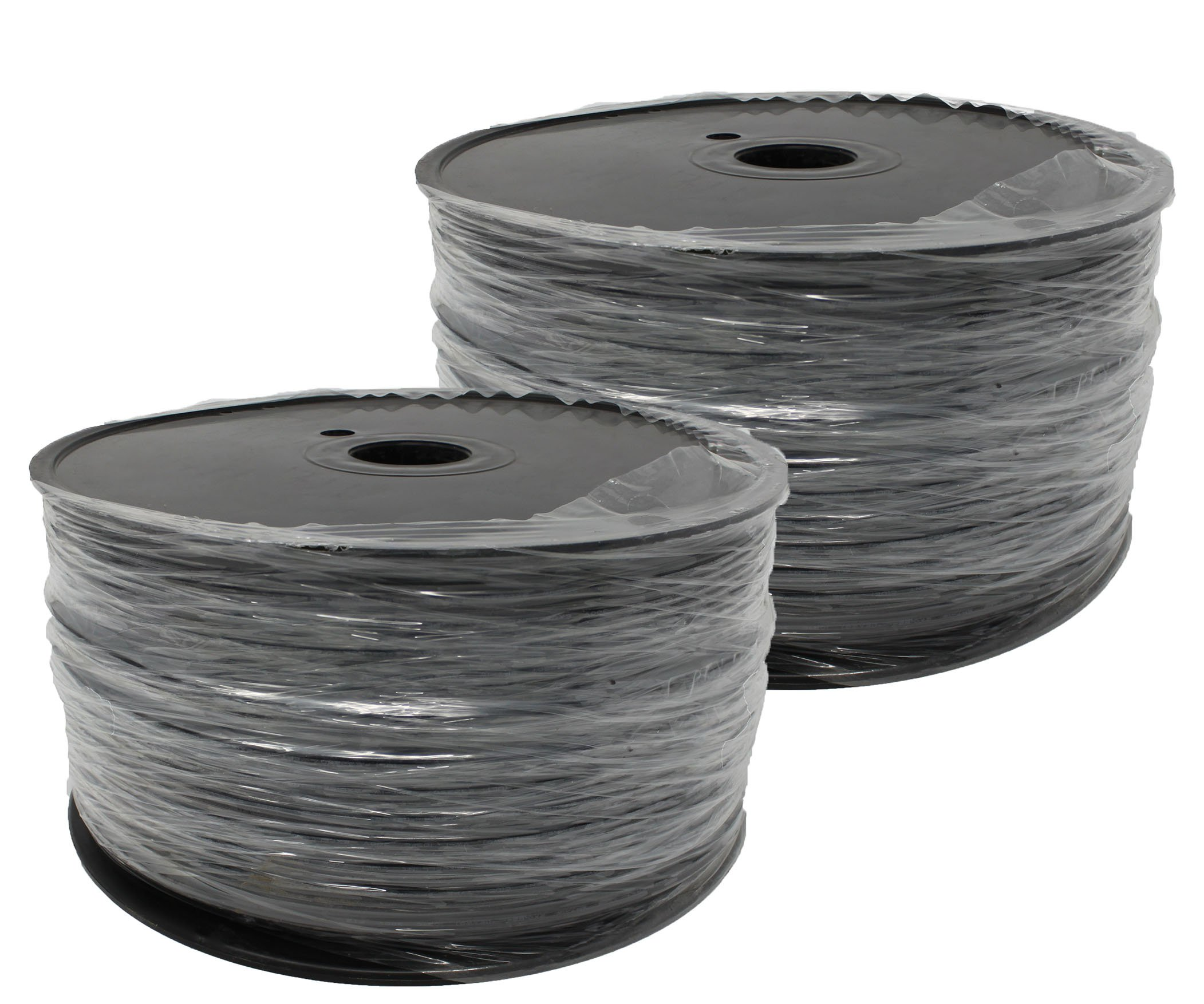 Green Zip Cord, SPT-2, 18/2, UL Listed, 1000' (2 x 500' Spools)