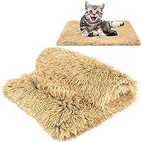 MMTX Esponjosas Felpa Mantas para Camas para Perros Gatos Colchón Doble Lado Mantas Mascotas Suave y Linda Cálido Manta…