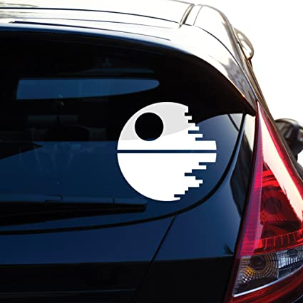 c5e32fe63e50b Death Star Inspired By Star Wars Decal Sticker for Car Window, Laptop,  Motorcycle, Walls, Mirror and More. # 466 (6