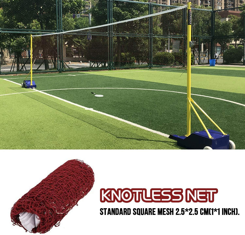 Standard Sport Braided Tennis Badminton Nylon Net 6.1 X 0.76m Indoor outdoor net