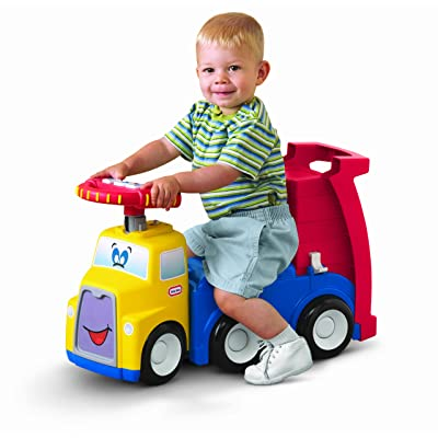 Little Tikes Handle Haulers Haul and Ride: Toys & Games