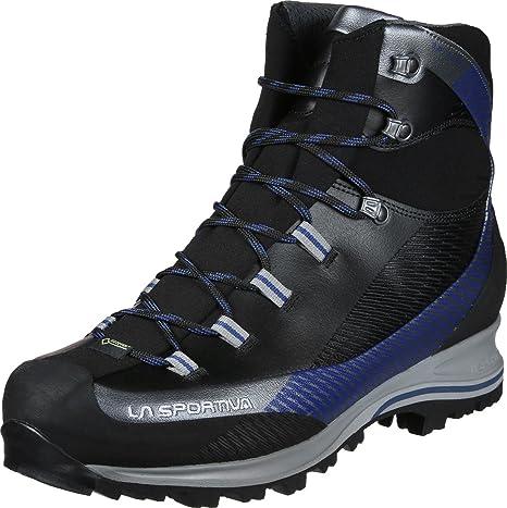 23f44a461e263 La Sportiva Trango TRK Leather GTX Scarpone d alpinismo carbon dark sea  43.5 EU