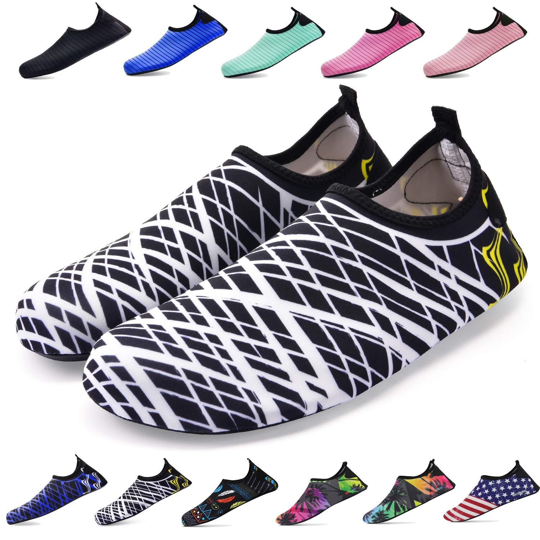 驚きの値段で (M (US Women:7.5-8.5/Men:6.5-7.5), Rainbow) Shoes - - Bridawn Water Shoes (US for Women and Men, Quick-Dry Socks Barefoot Shoes B07DJ5Q2YG ホワイトストライブ XL (US Women:9.5-10.5/Men:9-9.5) XL (US Women:9.5-10.5/Men:9-9.5)|ホワイトストライブ, 酒宝庫 MASHIMO:863c8a45 --- svecha37.ru