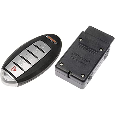 Dorman 99369 Keyless Entry Transmitter for Select Nissan Models, Black (OE FIX): Automotive