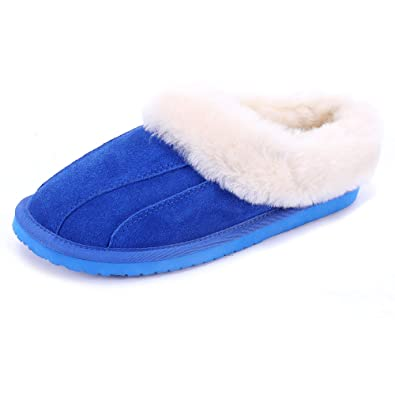 910b2f3fd Lamb Ladies' Slippers are Made of Australian Wool Integrated EVA Non-Slip  Material and