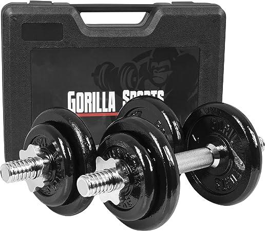 30 kg Kurzhantel 20 kg HUDORA Kurzhantel-Set Fitness Gewichte