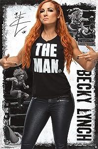 "Trends International WWE - Becky Lynch 19, 22.375"" x 34"", Unframed Version"