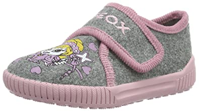 Geox J HOME Grey Shoes Slippers Child