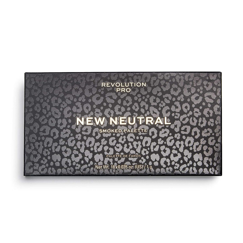 Makeup Revolution Eyeshadow Palette, New Neutrals Smoked