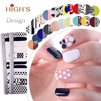 Highs Extre Adhesion 20pcs Nail Art Transfer Decals Sticker Design