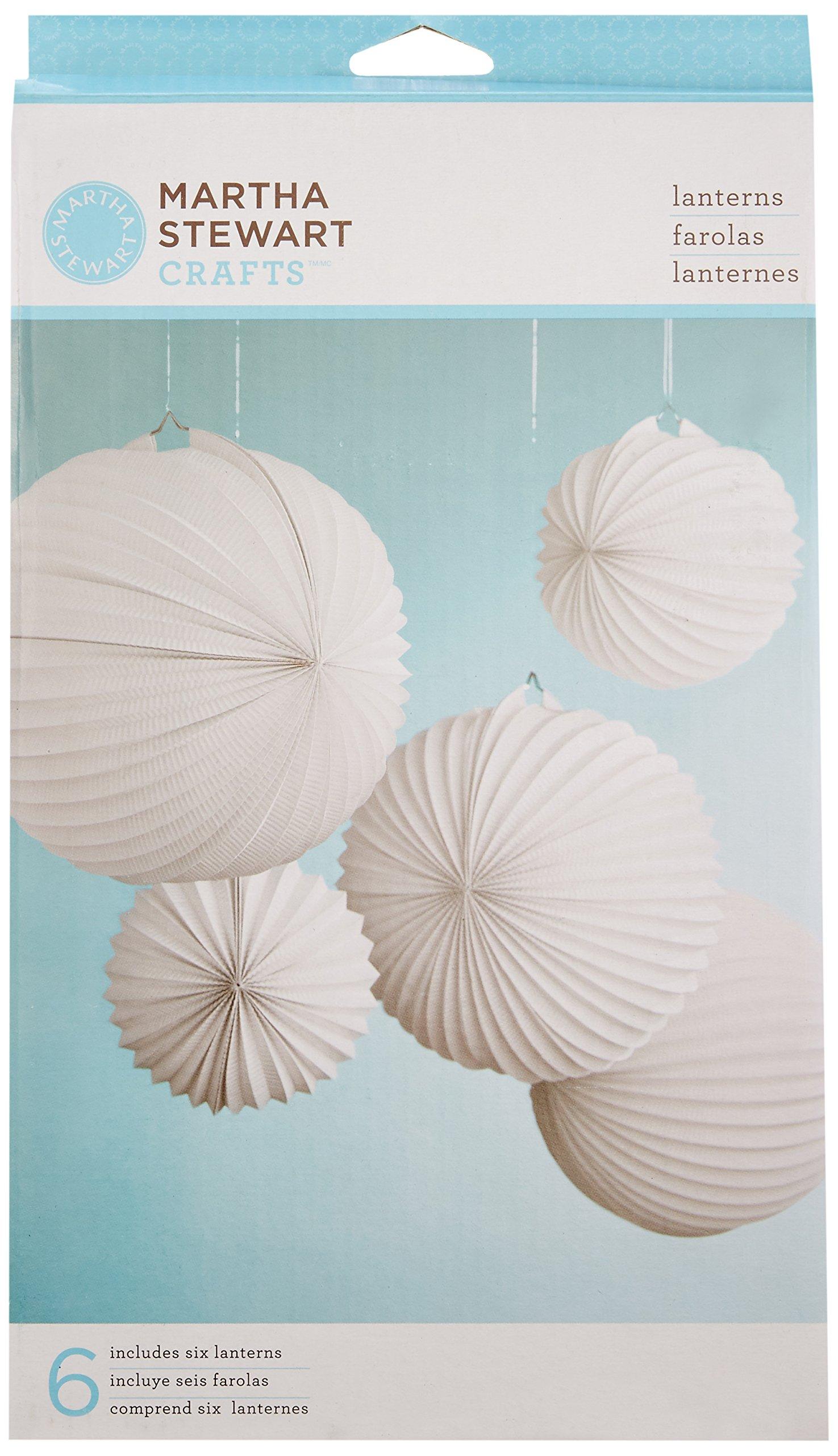 Martha Stewart Crafts EK Success Doily Lace Accordion Lanterns