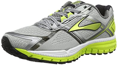55513d05772cf Brooks Men s Ghost 8 Grey lime Running Shoe - 8 D(M) US