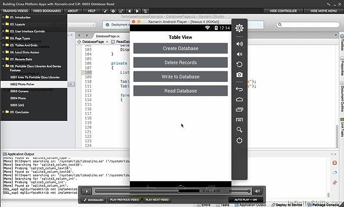 Amazon com: Building Cross Platform Apps with Xamarin and C# [Online