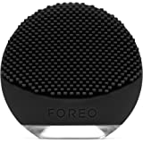 FOREO Luna Go Portable Silicone Cleansing Brush for a Smother Shave and Reducing Razor Burns for Men, 122g