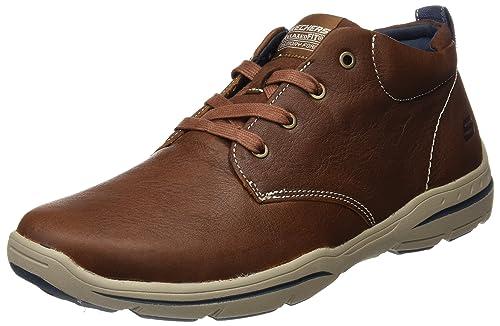 select for latest fashion great fit Skechers USA Men's Harper Meldon Chukka Boot