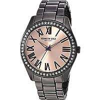 Kenneth Cole New York KC50664005 - Reloj de cuarzo para mujer (acero inoxidable y aleación), color gris