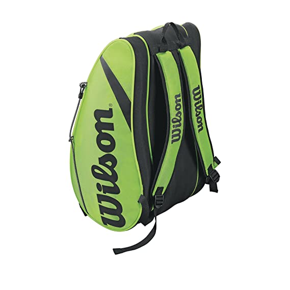 Amazon.com: Wilson Rak Pak bolsa de tenis: Sports & Outdoors