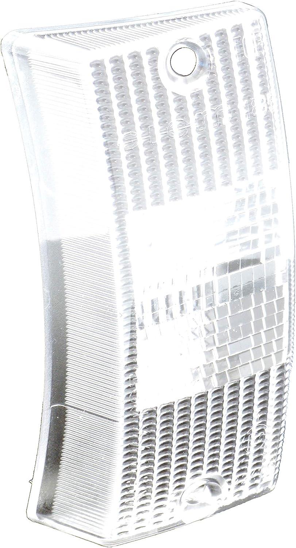Transparente delantero izquierdo blanco PIAGGIO VINTAGE 125 VESPA PX 125 30 ANNI 2007//2008 M09302