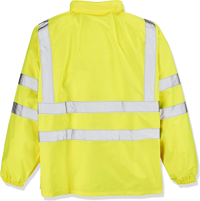 2X-Large Terratrend Job 60832-2XL-9000 High Visibility Rain Jacket Size 2XL in Yellow
