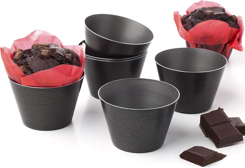 Flaneras individuales molde para flan moldes muffin magdalenas ...