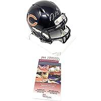 $109 » David Montgomery Chicago Bears Signed Autograph Speed Mini Helmet JSA Witnessed Certified