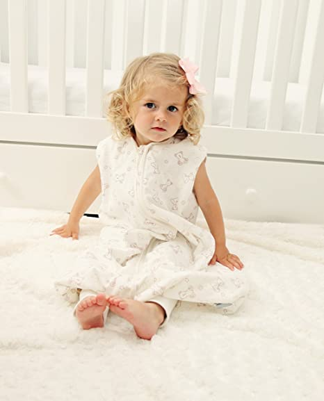 Amazon.com : Slumbersafe Summer Sleeping Bag with Feet 1.0 Tog Simply Teddy 24-36 Months : Baby