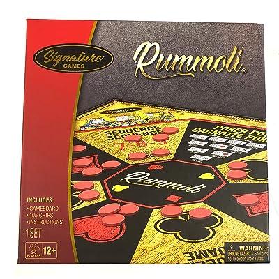 Rummoli Rummy Poker Game: Toys & Games
