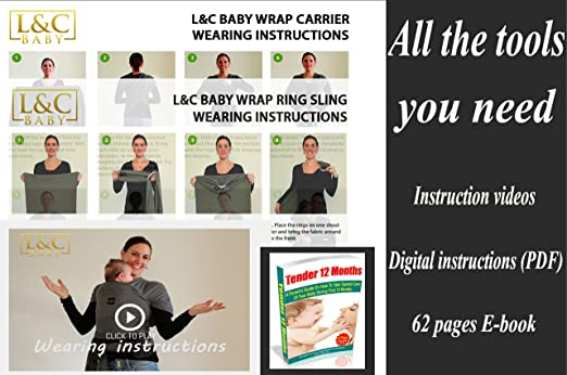 Amazon Com Baby Carrier Wrap Sling Ring 2 Sling Rings Added For
