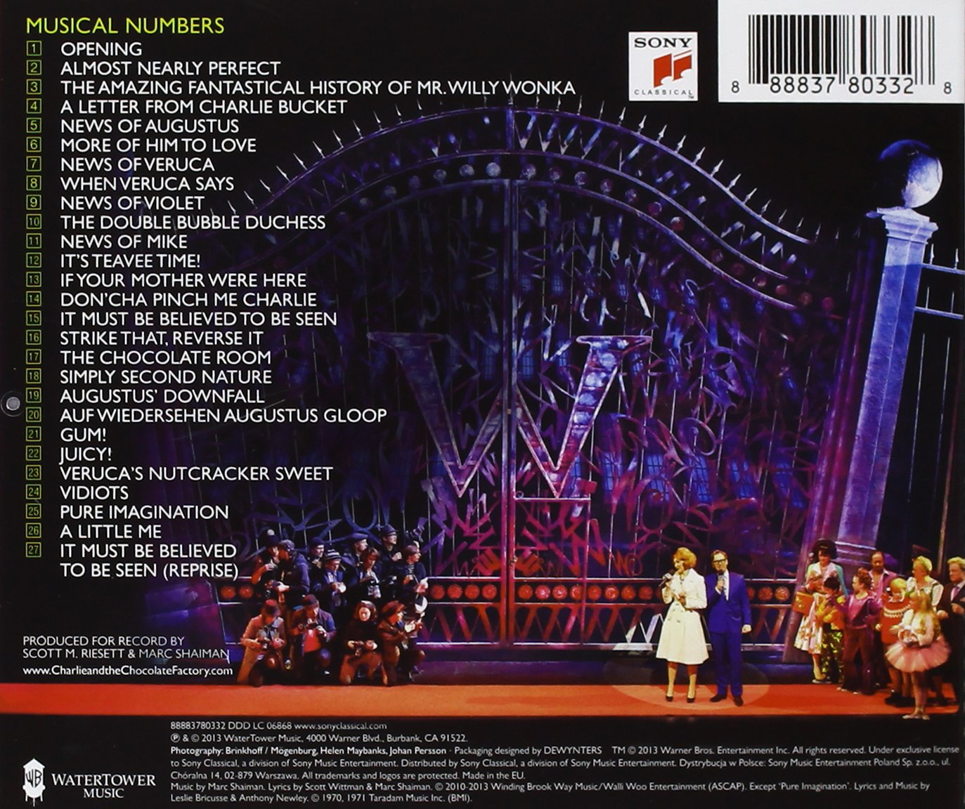 CHARLIE & THE CHOCOLATE FACTORY O.L.C. - Charlie & The Chocolate ...