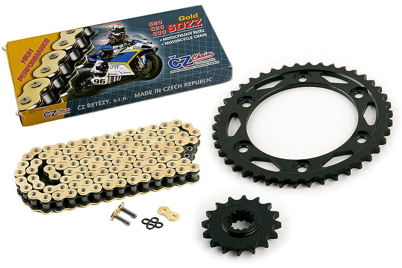 2008-2015 Fits Honda CBR1000RR CZ SDZZ Gold X Ring Chain And Sprocket Kit 16//42 120L
