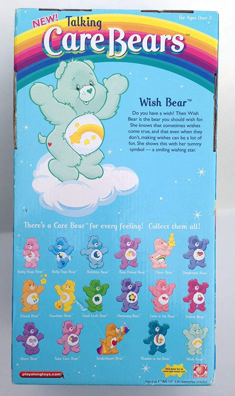 13 Care Bears Talking Wish Bear Play Along