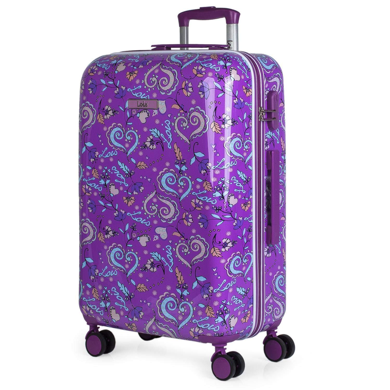 Image of Trolley Purple Lois Luggage