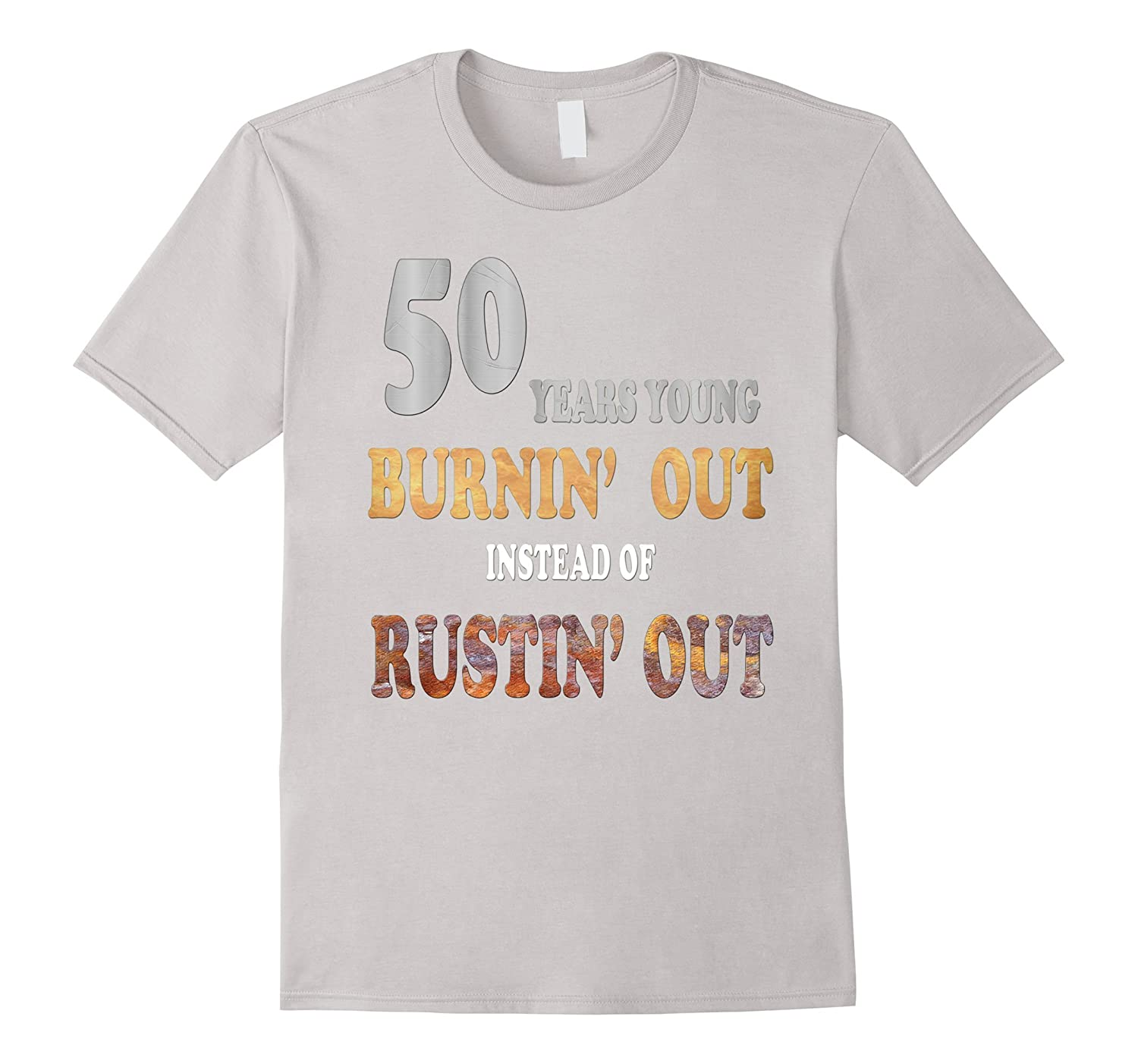 Fifty Year Old Gift Ideas Shirt Fiftieth Birthday T Shirt-Vaci
