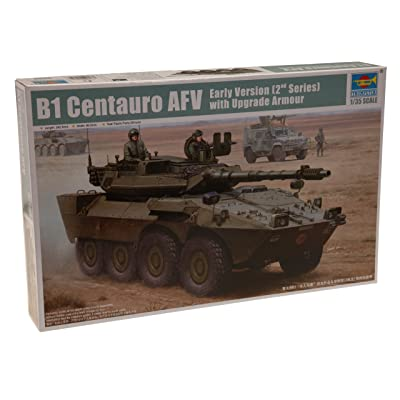 Trumpeter 1/35 Italian B1 Centauro 2nd Series Tank Destroyer Early Version with Upgrade Armor: Toys & Games