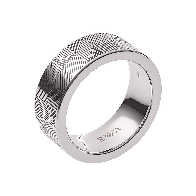 Emporio Armani Men Stainless Steel Ring - EGS2508040-9